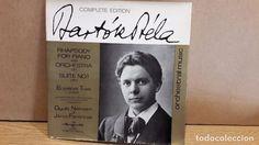 Bartok Complete Edition Vol. I; Rhapsody For Piano & Orchestra OP. 1 / LP-GATEFOLD / LUJO. ****/****