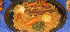 Thieboudienne (Rice and Fish)