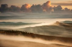 To Live In The Mists: Villages Of Poland And Italy Captured In The Mist   Bored Panda