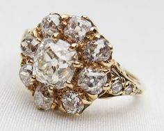 victorian-diamond-engagement-cluster-ring