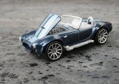 Detailed Hot Wheels Shelby Cobra.