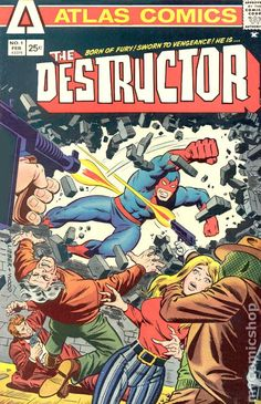 THE DESTRUCTOR 1, BRONZE AGE ATLAS COMICS