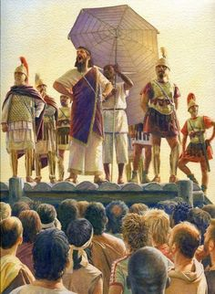 Hanno 'the Great' addresses the mutineers, Libyan war 240 BC. Hanno 'the Great' investigates the cause of the mutiny amoung his mercenary soldiers during the Cartaginian campaign of conquest in Libya. Carthage, Ancient Rome, Ancient History, Greco Persian Wars, Punic Wars, Classical Antiquity, Medieval World, Historical Pictures, Military History