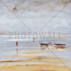 Les Deux Barques - Bilder på lerret - Photowall