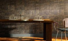 Élitis, french editor of wallpaper, fabric, wallcovering, furniture and accessories Madagascar, Office Wallpaper, Of Wallpaper, Indoor Range, World Of Interiors, True Art, Interiores Design, Interior Inspiration, Entryway Tables