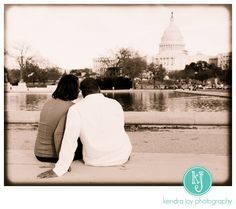 Super fun Capitol Hill engagement session!