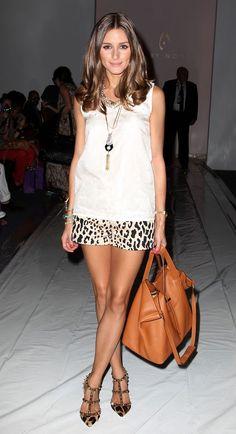 leopard shorts + valentino spike heels LOVE LOVE LOVE !!!