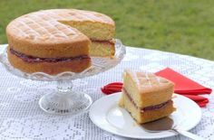 How to Make Jamaican Victoria Sandwich, Jamaican Recipes, Jamaican Cooking