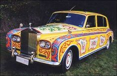 John Lennon's Rolls Royce,  I actually saw this car in person in Myrtle Beach lots of years ago...