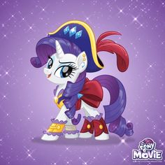 #1517732 - my little pony: the movie, pirate costume, pirate rarity, pony, rarity, safe, solo, spoiler:my little pony movie - Derpibooru - My Little Pony: Friendship is Magic Imageboard