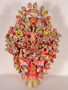 Mexican Celebration Alter Tree of Life Candelabra