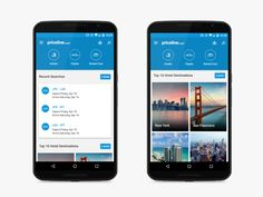 Priceline Android Dashboard by Graeme Richardson