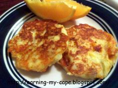 Earning-My-Cape: Cheesy Potato Patties. Need to add approx 1 tbsp flour or so to help hold together better