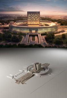 Zaha Hadid Philosophy the landingtamas medve | architecture | 3d | cgsociety
