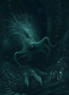 Cthulhu Returns by ScottPurdy.deviantart.com on @deviantART