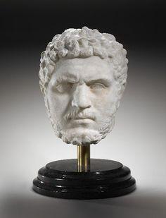 Portrait of Caracalla, Emperor of the Roman Empire Roman Artifacts, Ancient Artifacts, Roman History, Art History, Ancient Rome, Ancient History, Art Rules, Greek And Roman Mythology, Roman Sculpture
