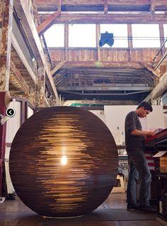 Huge graypants scrap light made from cardboard! http://www.graypants.com/colossal-shop/
