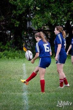 Ste Anne-de-Bellevue, Rugby. crédit photo : LaMalice photographie