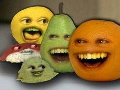 Wasaaaabiiii..  After a year Annoying Orange is still fun