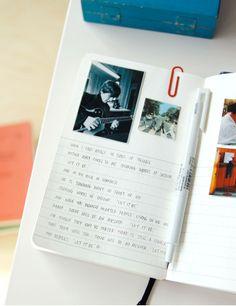 essay of booksun mrn   korean stationery   essay book journal   orange  journal