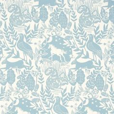 Fabric - Studio G - Westonbirt blue - Available from Clark & English