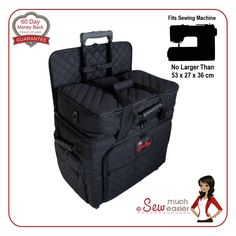 Sewing Machine Trolley Bag Case Rotary Cutter Mat Tote for Janome Singer Brother