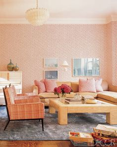 Keeping this room's patterns in the same color family make for a pleasing, vibrant style without being too much.