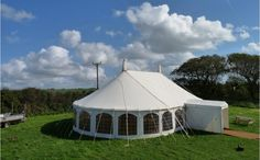Our new handmade traditional oval Wedding Marquee create the perfect wedding venue