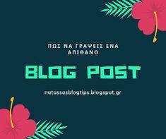 Natassa's blog tips: Πώς να γράψεις ένα απίθανο άρθρο για το blog σου Organizing, Organization, Blog Tips, Movie Posters, Getting Organized, Organisation, Film Poster, Tejidos, Billboard