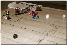 Map and Miniatures