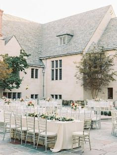 Picture-Perfect Outdoor Beverly Hills Wedding at Greystone Mansion - MODwedding Mod Wedding, Wedding Reception, Best Caravan, Reception Decorations, Reception Ideas, Bright Color Schemes, California Girl Style, Classic Candles, California Wedding Venues