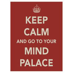 """""""Keep Calm and Go to Your Mind Palace"""" T-Shirts & Hoodies by JulieDA 
