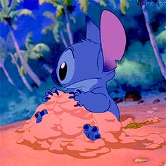 Stitch! Bc it's how I feel about things until someone looks at me like I have three heads for my enthusiasm.