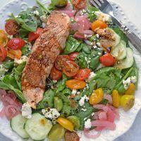 Salmon Salad Recipes, Easy Salad Recipes, Chicken Salad Recipes, Easy Salads, Shrimp Recipes, Homemade Steak Sauces, Balsamic Salmon, Pudding Flavors, Yum Yum Sauce