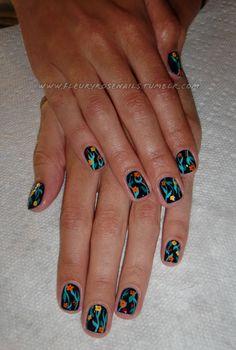 Fancy nails!  Tomahawk Salon!  http://tomahawksalon.com/  Brooklyn, NY