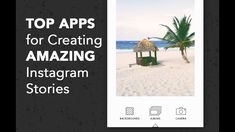 Top 5 iPhone Apps for Creating Instagram Stories Photography Tips, Landscape Photography, Top Apps, Mobile Video, Social Media Template, Best Apps, Photoshop Tutorial, Social Media Marketing, Instagram Story