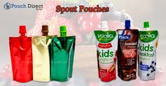 #Spoutpouches make provision for the transportation of #liquid goods, from retailer to #consumer.