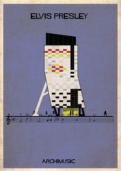 Galeria - ARCHIMUSIC: Ilustrações transformam música em arquitetura - 31