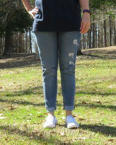 Stitch Fix Just Black Riley Distressed Skinny Jean