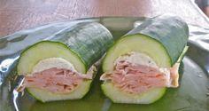 FITNESS sendvič z okurky namísto pečiva