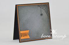 born2stamp STAMPIN' UP! Minikarten - Herbst - Winter - Bloghop - Frohliche Stunden - Aquapainter - Aquarellpapier