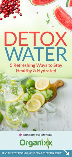 Detox Water Recipes: 5 Refreshing Ways to Stay Healthy & Hydrated