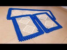 Filet Crochet, Blanket, Rugs, Elsa, Youtube, Bottle Crafts, Crochet Carpet, Kitchen Playsets, Kitchen Sets