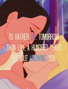 Not my favorite Disney movie, but for sure one of my favorite Disney quotes <3
