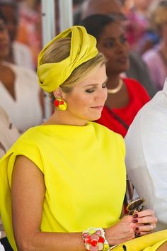 Queen Maxima of the Netherlands attends Dia di Rincon on April 30, 2015 in Rincon, Netherlands