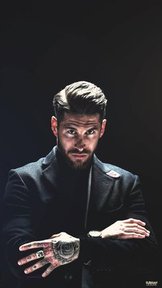 by on DeviantArt Ramos Real Madrid, Real Madrid Club, Real Madrid Football Club, Real Madrid Players, Football Players Images, Soccer Players, Football Team, Football Player Boyfriend, Lionel Messi