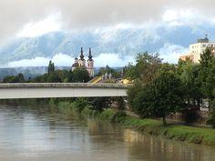 Villach, Austria - July 2012.