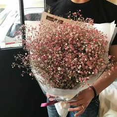 Beautiful Bouquet Of Flowers, Beautiful Flowers, Wedding Flowers, Dried Flowers, Fresh Flowers, Pink Flowers, Rose Arrangements, Plants Are Friends, Flower Aesthetic