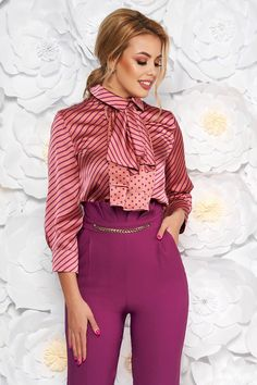 Blouses For Women, Ladies Blouses, Sexy Blouse, Girls Wear, Silk Satin, Crossdressers, Stockings, Ruffle Blouse, Feminine