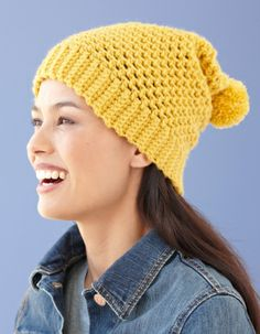 I've made this hat. Great pattern that you can use any type of yarn with. Warm and comfy too.